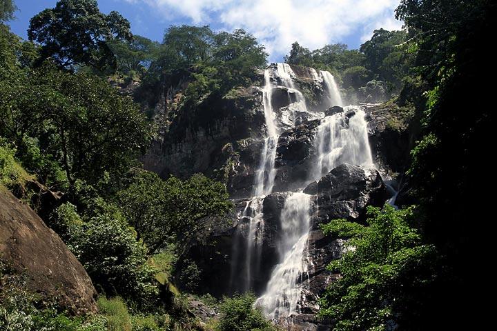 SANJE WATERFALLS INSIDE THE UDZUNGWA MOUNTAIN NATIONAL PARK