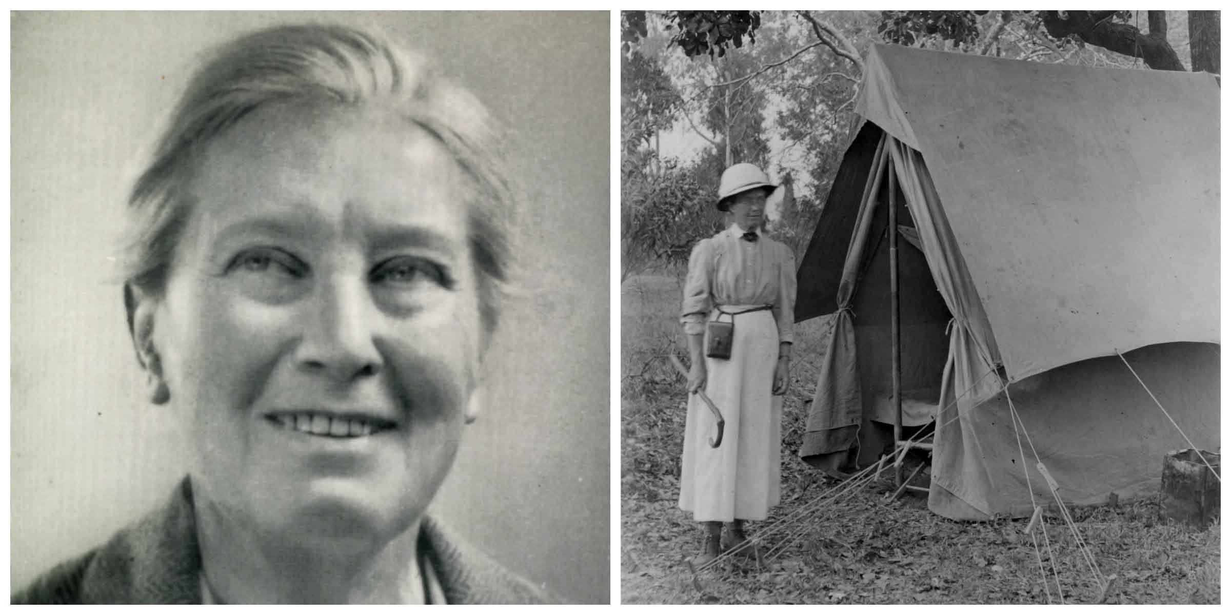 GERTRUDE BENHAM WAS THE FIRST WOMAN TO SUMMIT KILIMANJARO