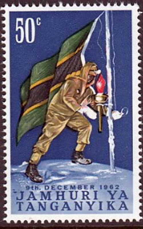 Kilimanjaro Uhuru Peak Flag Union.jpg