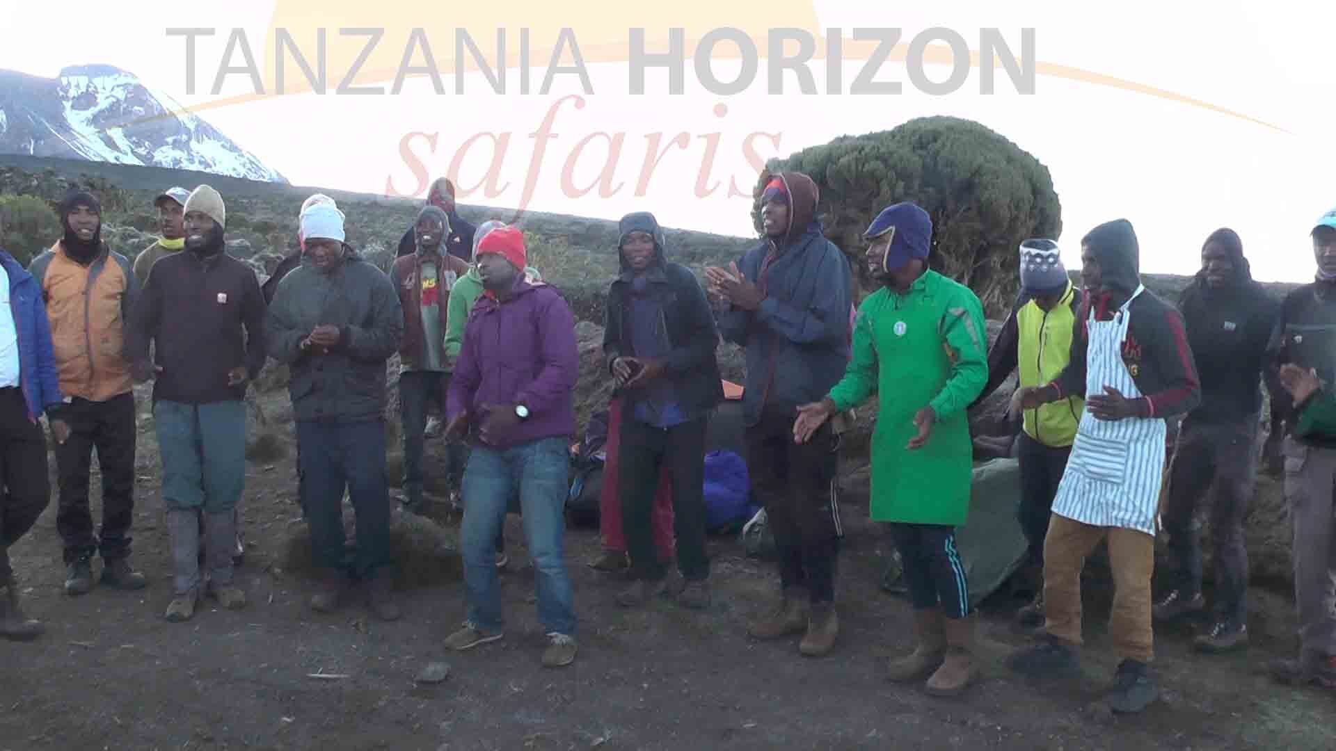 It IS COMMON TO TIP YOUR CREW AFTER CLIMBING KILIMANJARO