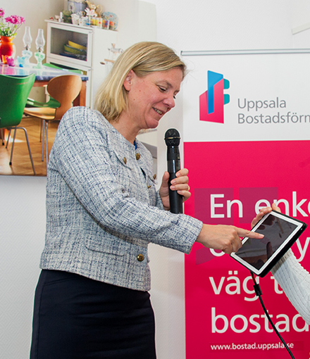 The Swedish Minister of Finance, Magdalena Andersson