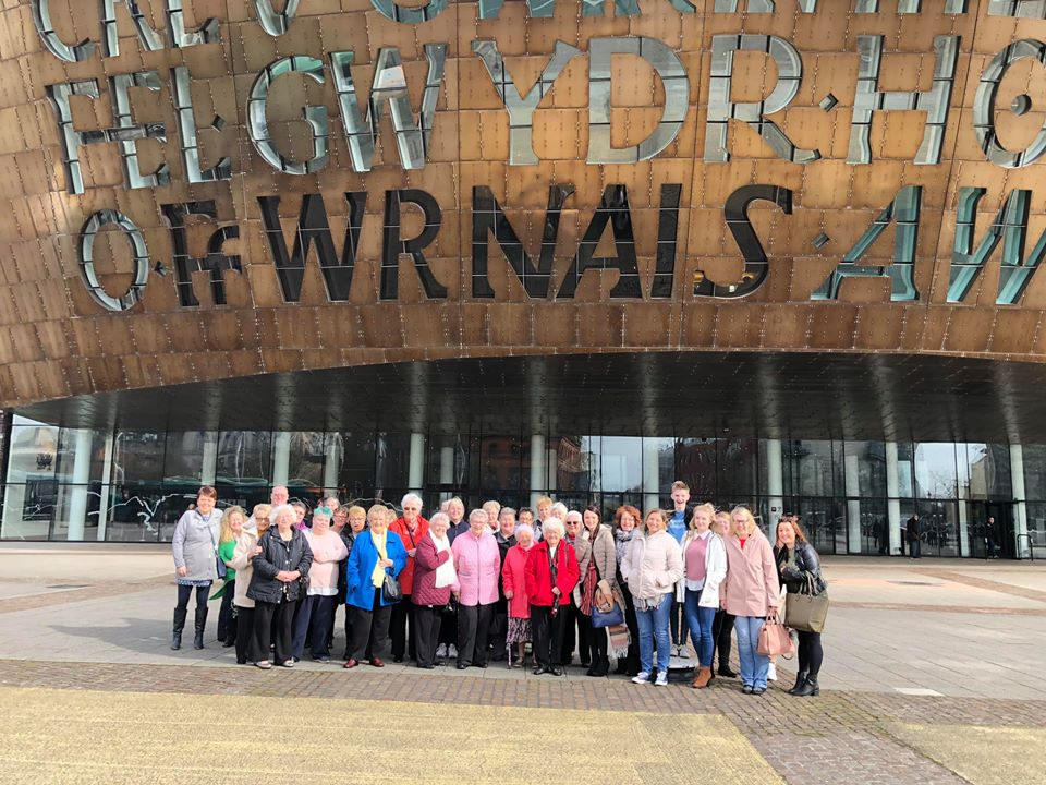 We had a fantastic visit to the Millennium Centre in Cardiff . Thanks to the Co-Op community fun, everyone enjoyed the show.