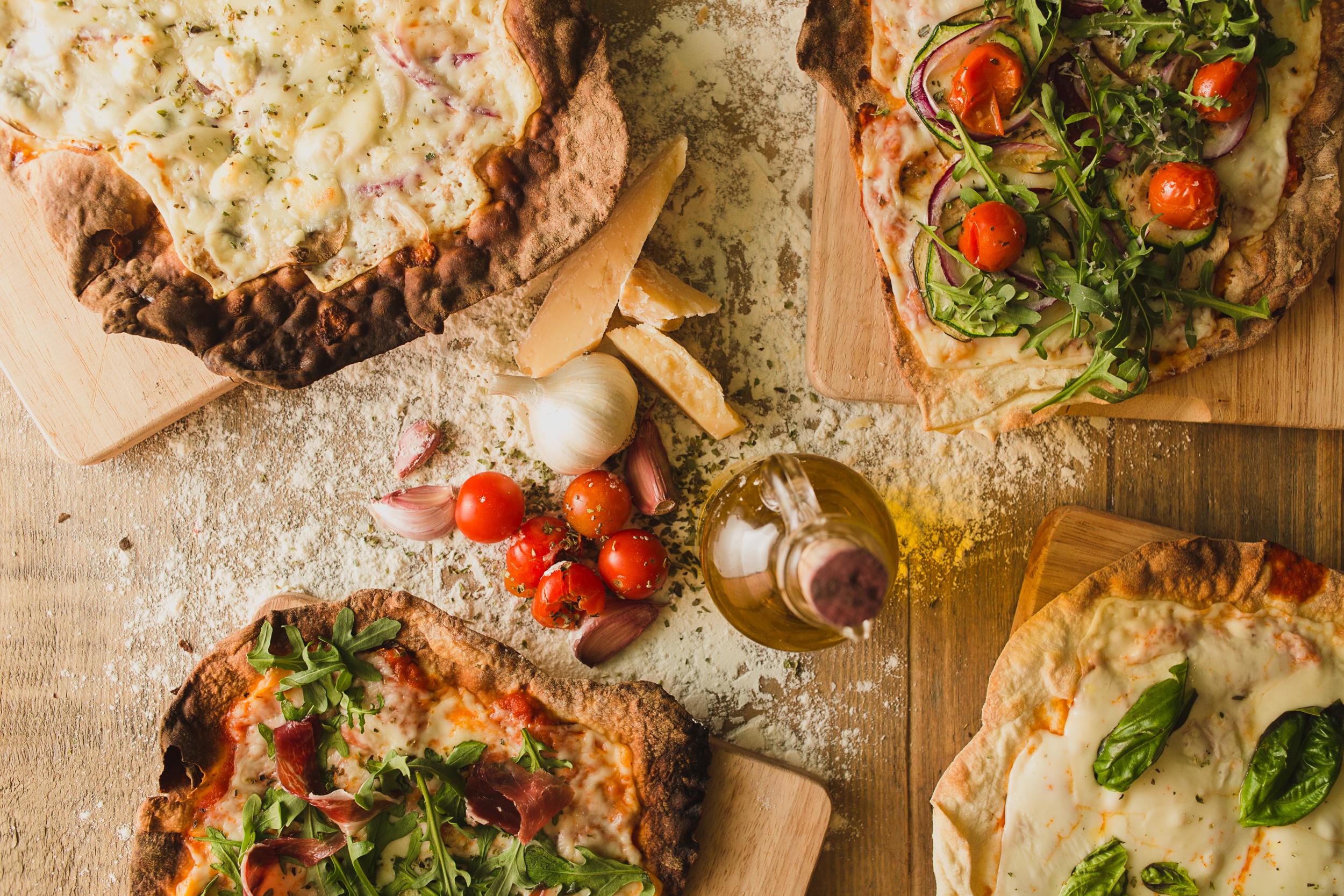 ¡Pizzas para llevar! -