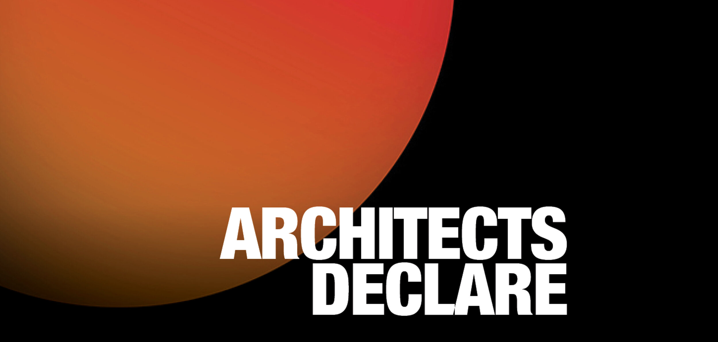 d-on architects have joined the Architects Declare movement