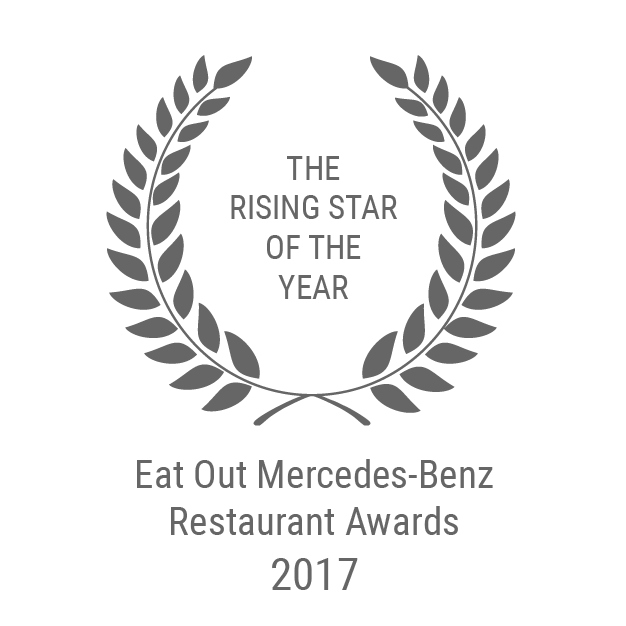 Eat Out Mercedes-Benz Restaurant Award Rising Star