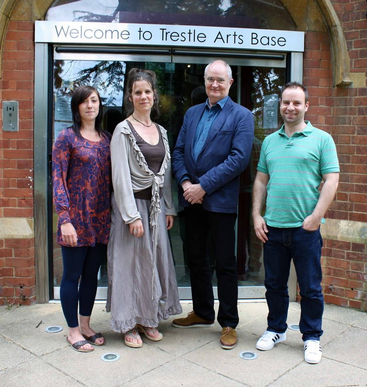 Trestle Pratron Jim Broadbent with Trestle Team