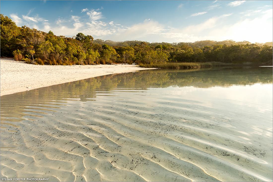Der einmalig schöne Lake McKenzie mit seinem kristallklaren Wasser