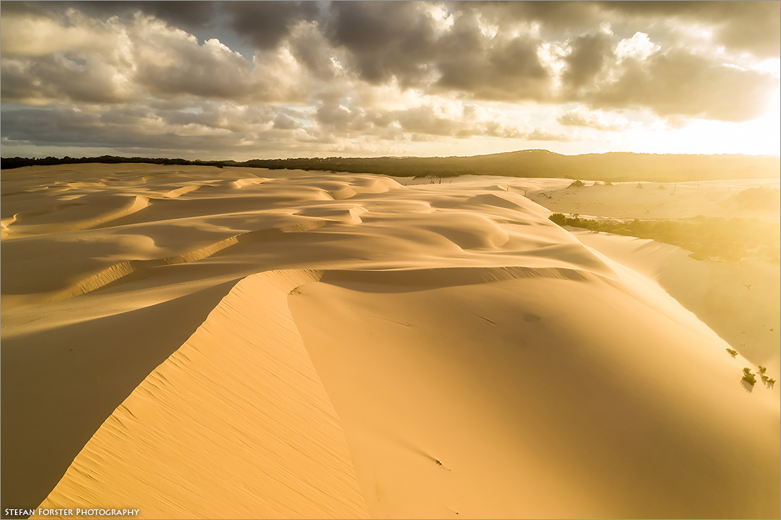 Die wunderschönen Sanddünen auf Fraser Island