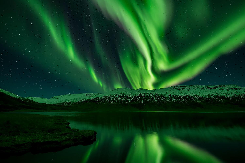 ....  LICHTER DER NACHT  ..  northern lights  ....