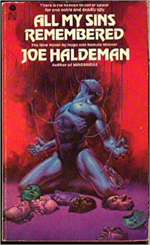 What weirdo sci-fi kid  wouldn't  want to read a book with this wild of a cover?