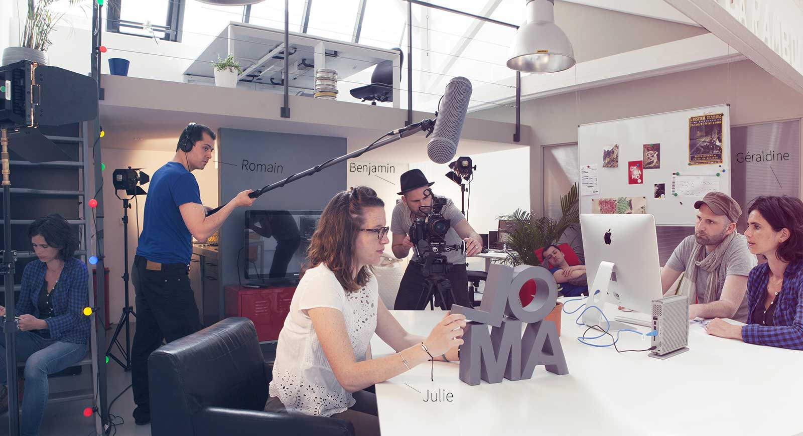 Olam Productions - Accompagnement et réalisation Wordpress. De magnifiques réalisations chez Olam. Allez voir.
