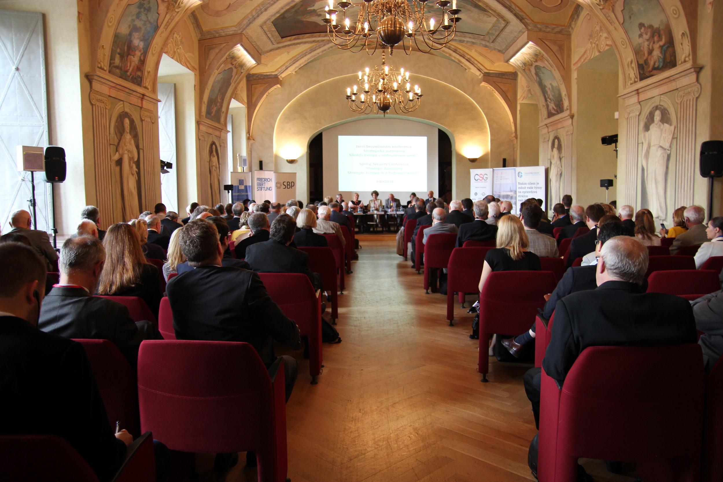 Jarní bezpečnostní konference -