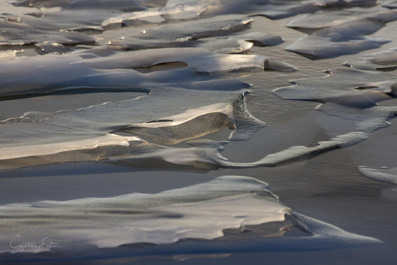 Ice on Lochindorb