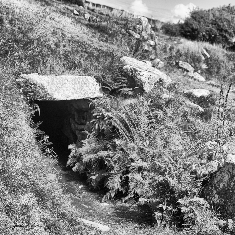 Tunnel entrance at Carn Euny