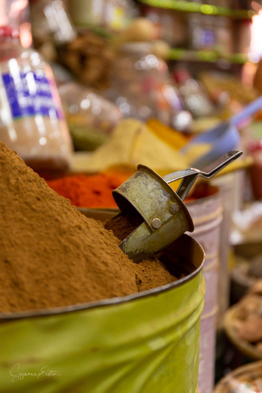 Cumin in a Marrakech spice shop