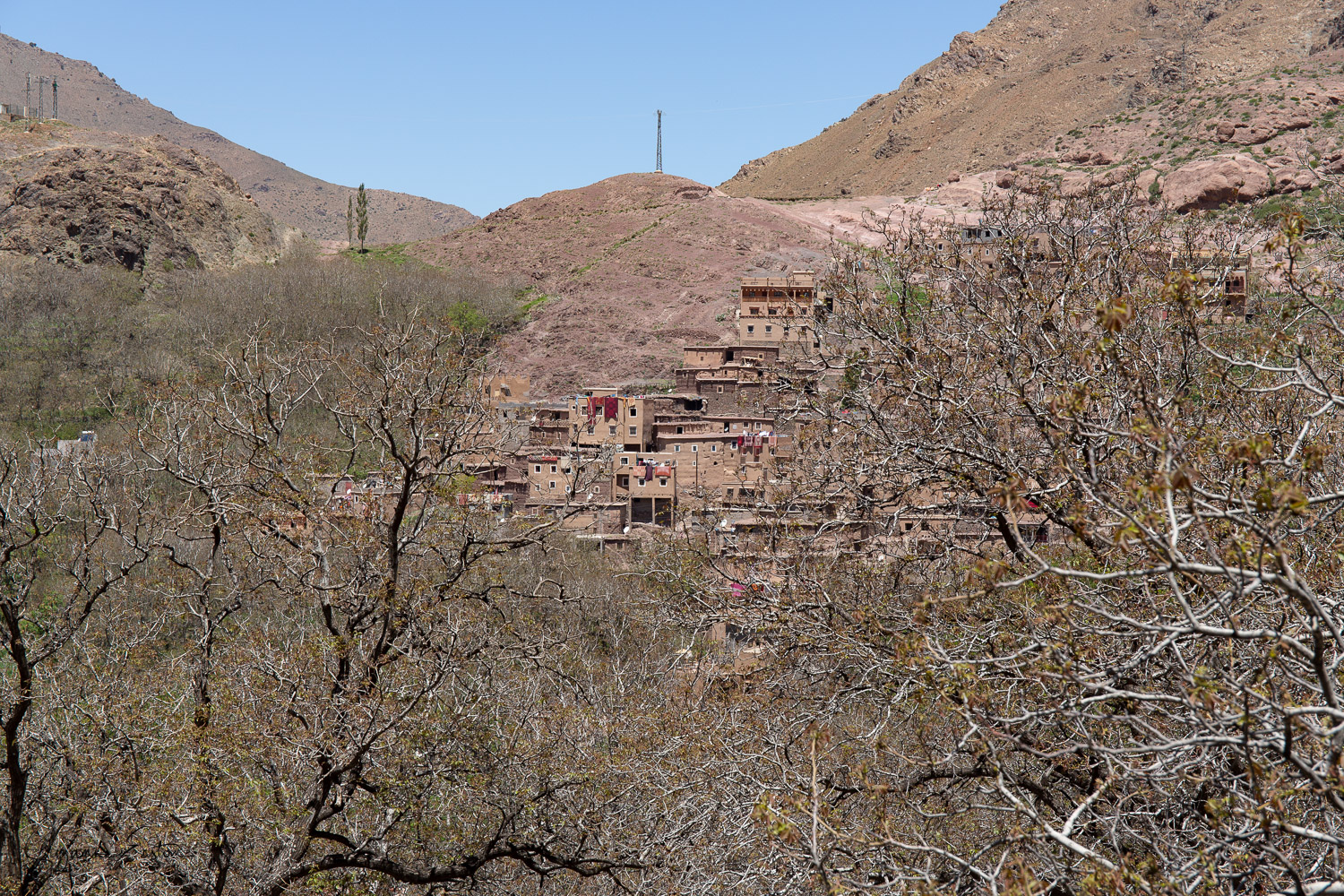 A Berber village just outside Imlil