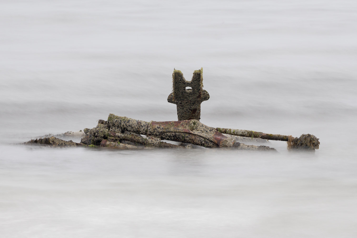 Wreckage at Bay of Lopness