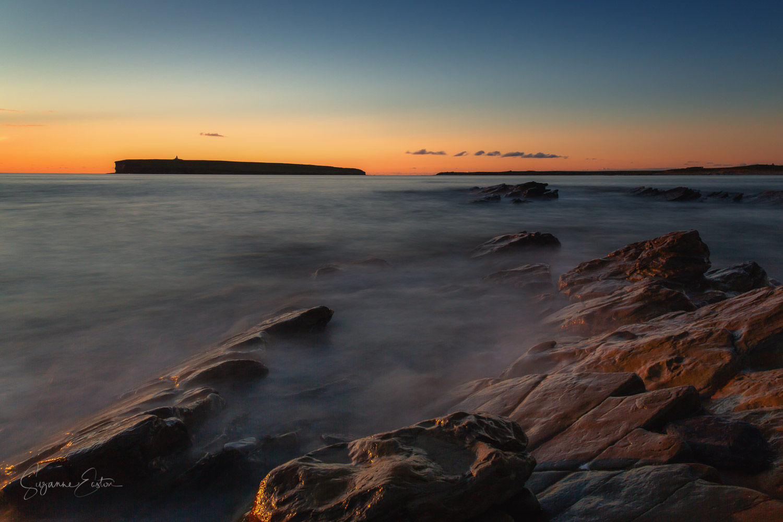 sunset over Birsay, Orkney Mainland