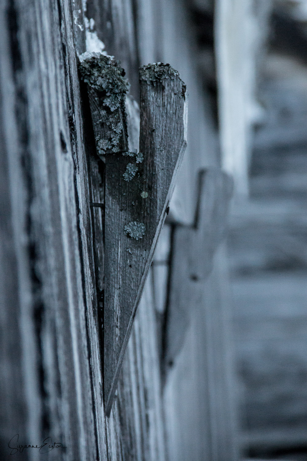 Wooden latch