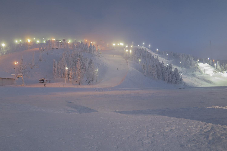Ruka ski slope