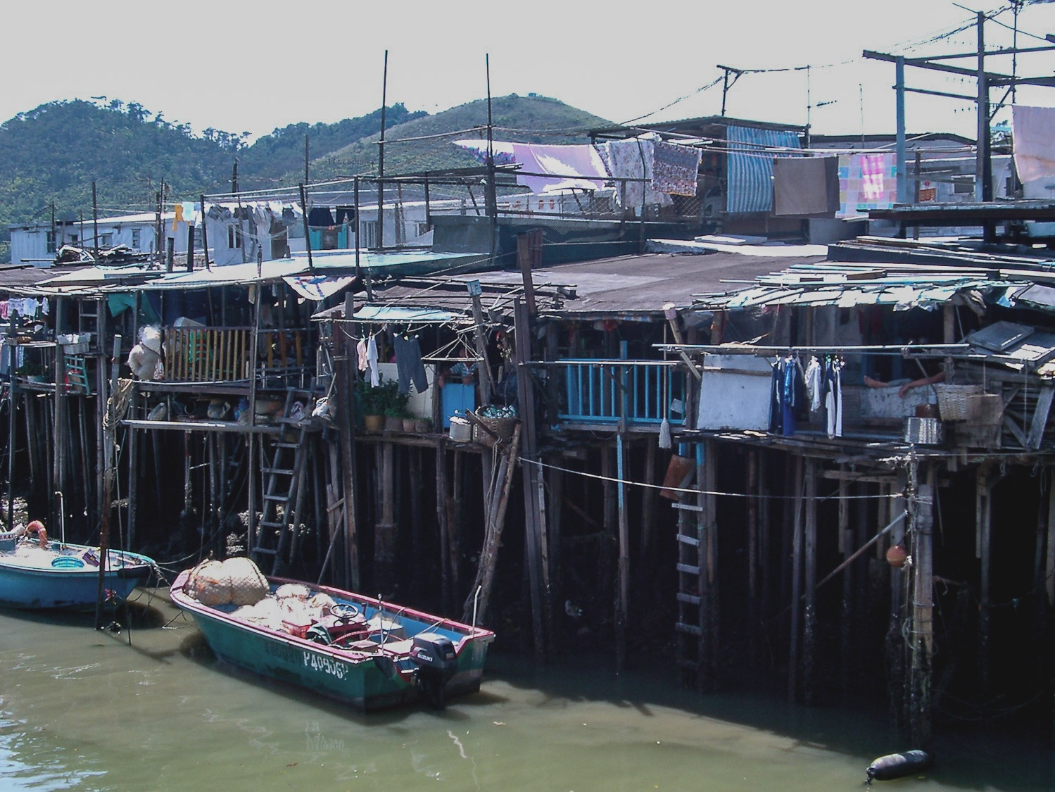 Tai O village from one of the bridges