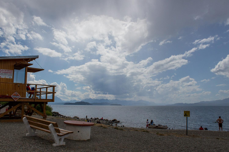 Playa bonita Bariloche