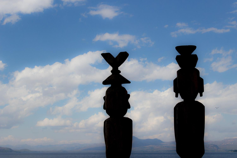 Mapuche figures, Bariloche