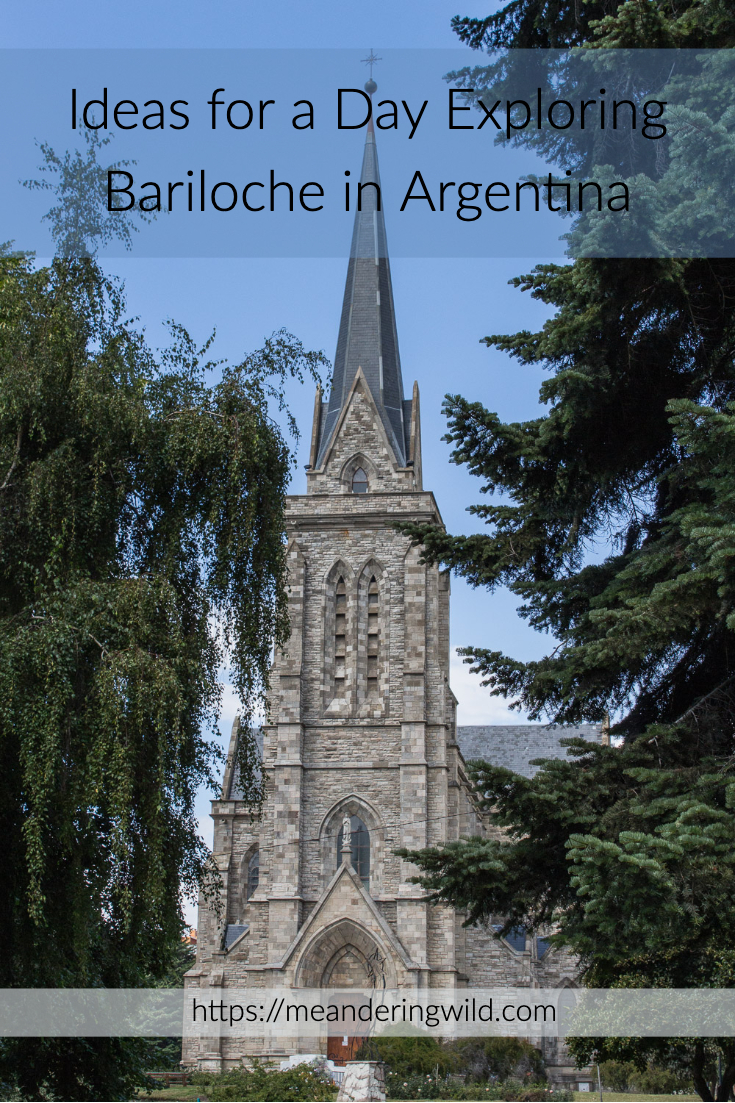 Bariloche is a small ski resort in the Patagonian Lake District. The start of many mountain treks it is a pretty town to explore in the summer months.