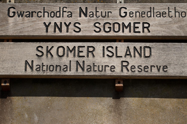 Skomer Island nature reserve