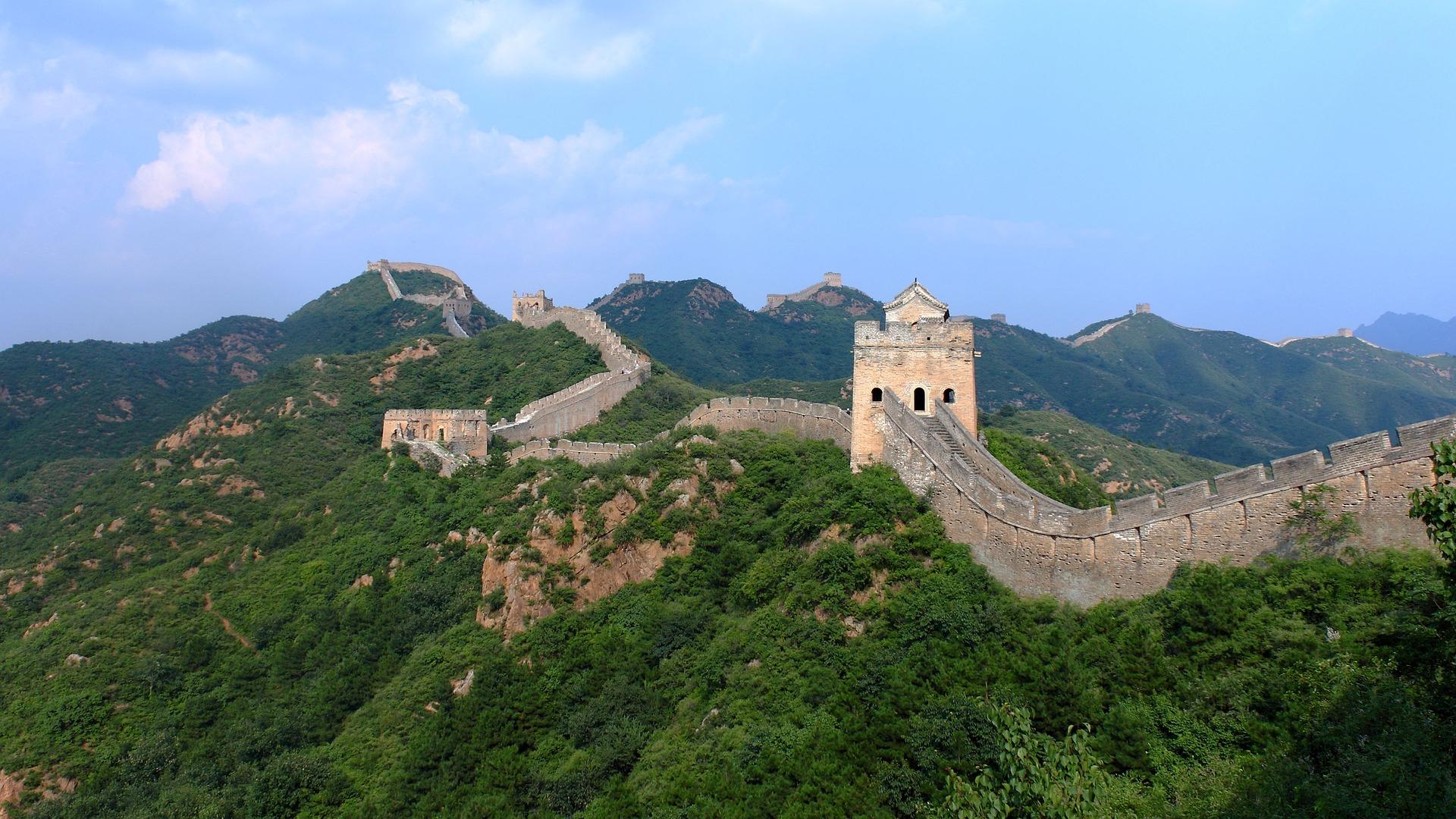 Jinshanling, China, Great Wall, guidebook