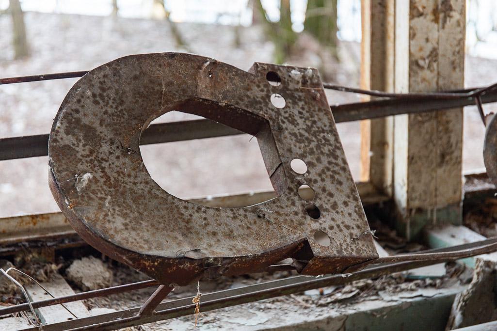 Rusting letter