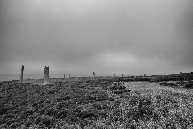 Fog at Brodgar