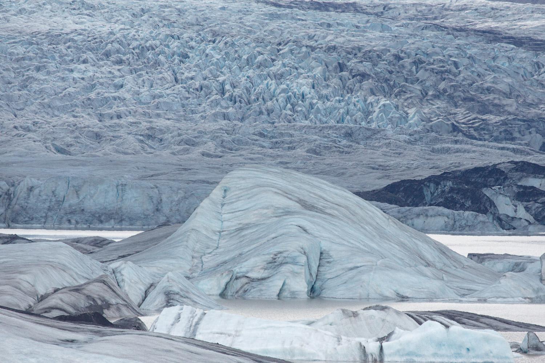 Hoffellsjökull glacier
