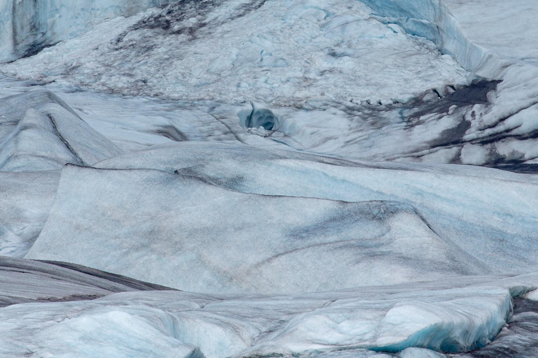 Hoffellsjökull ice