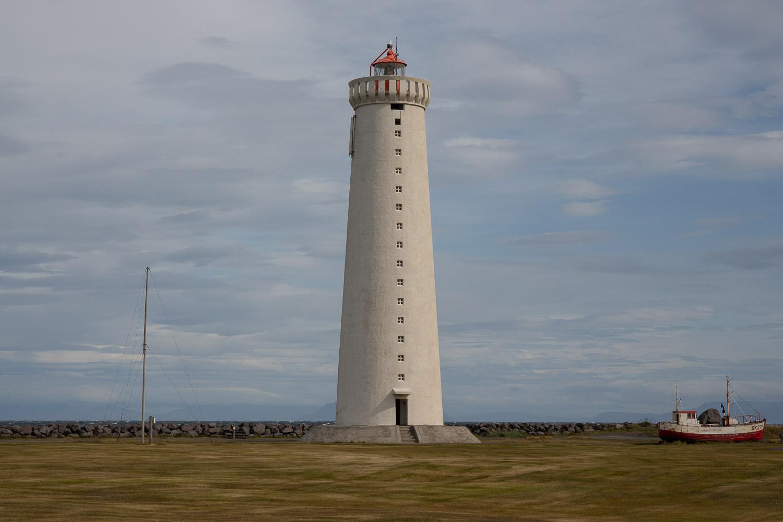 The tallest lighthouse in Iceland Garðskagi