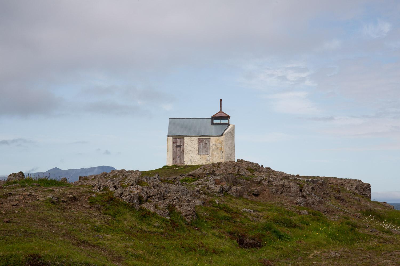 Dalatangi Lighthouse, the oldest remaining lighthouse in Iceland