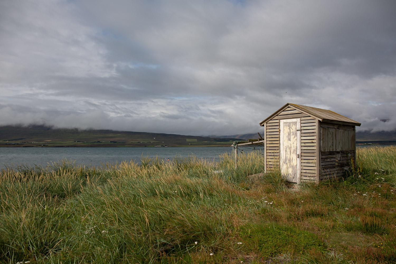 Shed in Svalbarðseyri