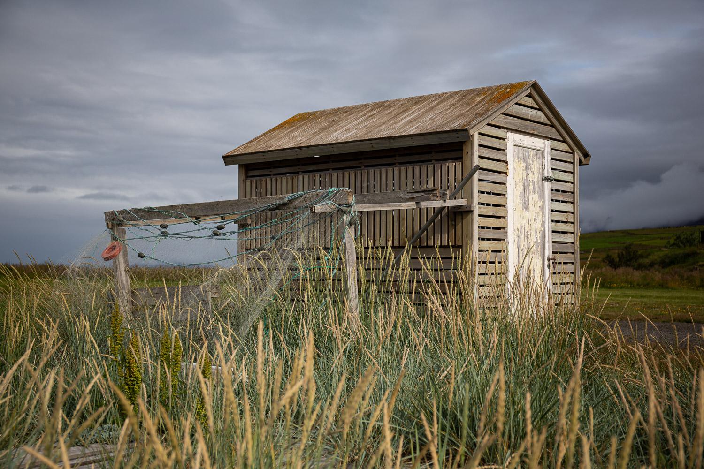 Fishing shed in Svalbarðseyri