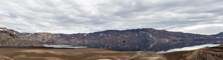 Lake Öskjuvatn in Iceland