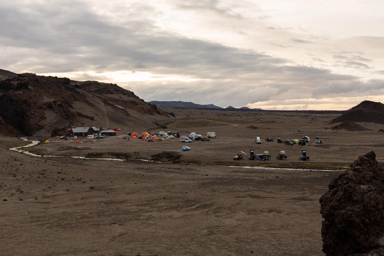 Dreki campsite