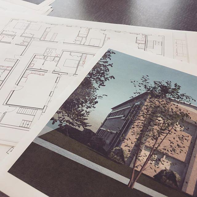 Planning and printing. Printing and planning. #clevelandcontractors #multifamilyinvesting #renovation #contractorsofinsta #cleveland #oldbrooklyn