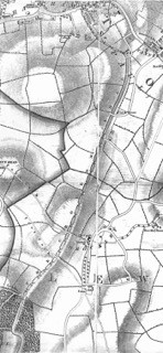 1833: George Cruchley Map of Brockley