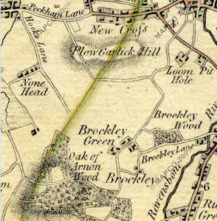Map from 1789.