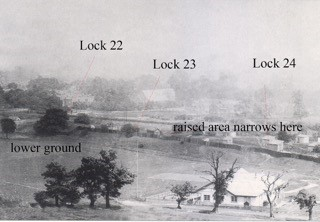 The Honor Oak Recreation Ground 1914 with references to canal locks.