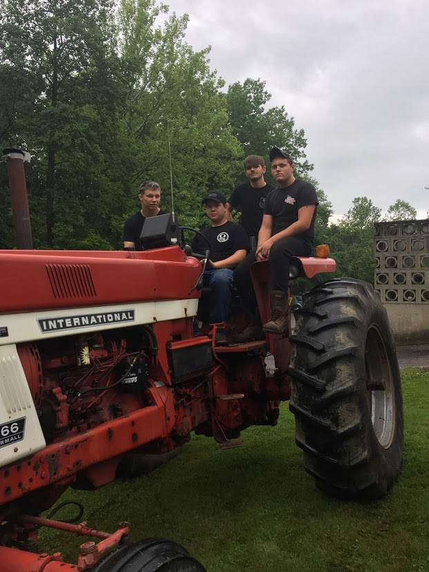 Participating in Tractor Day!