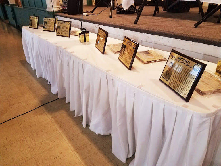Plaques -- ready to present!