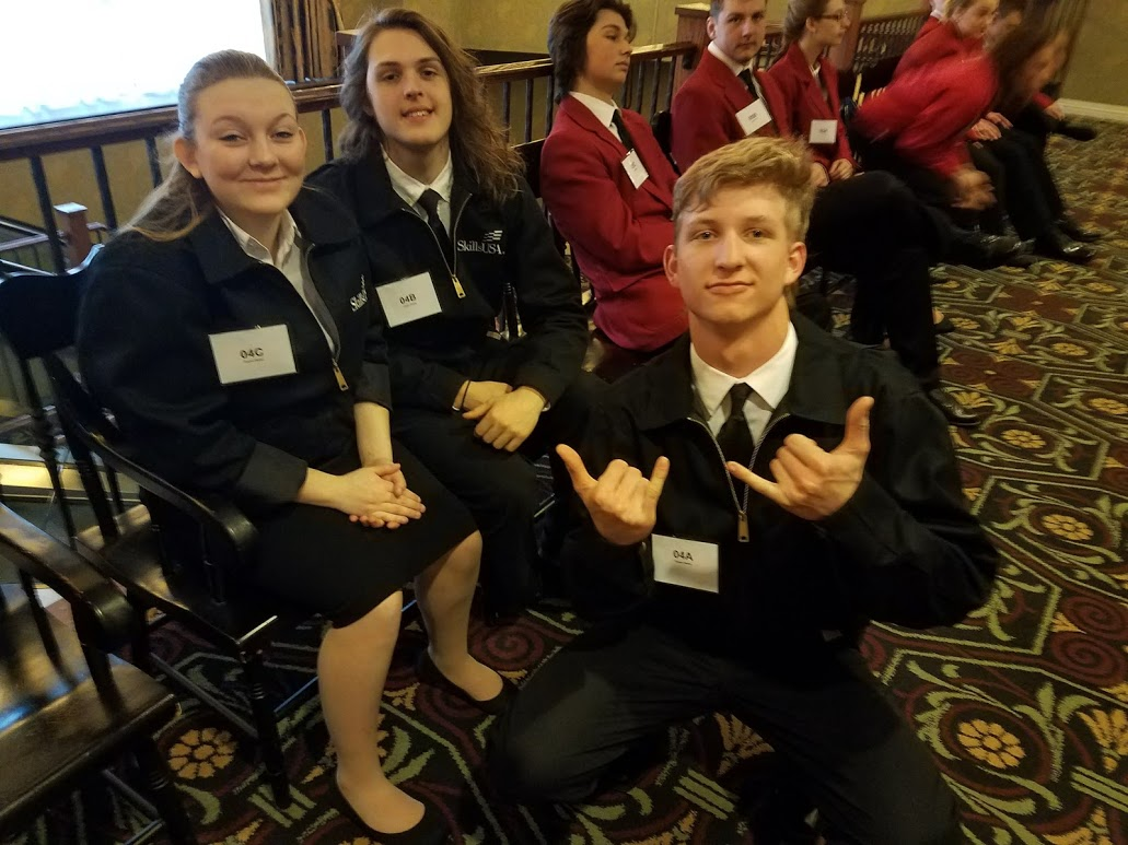 Chapter Display Team at Hershey