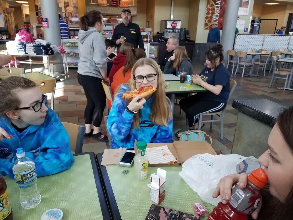 Enjoying a Meal Together