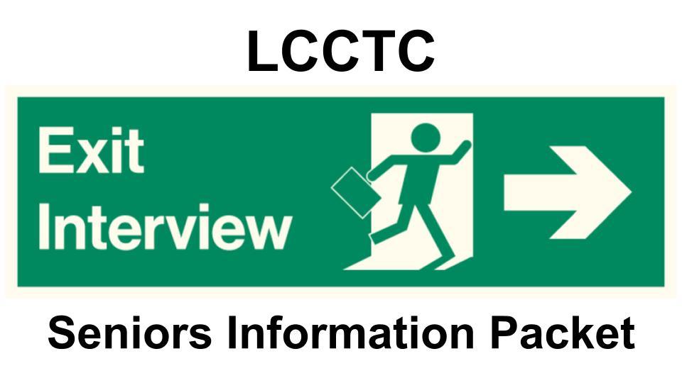 Senior Exit Interviews -