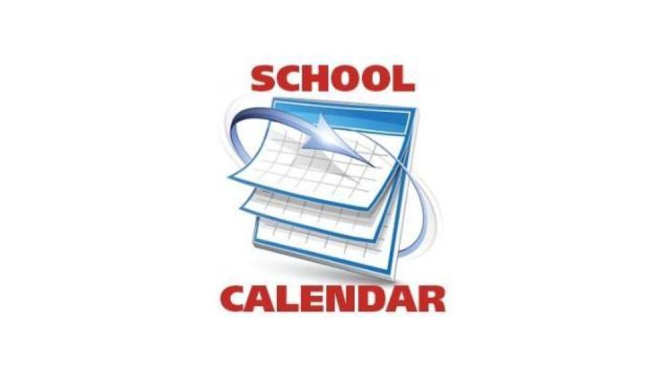 2019-2020 Calendar -